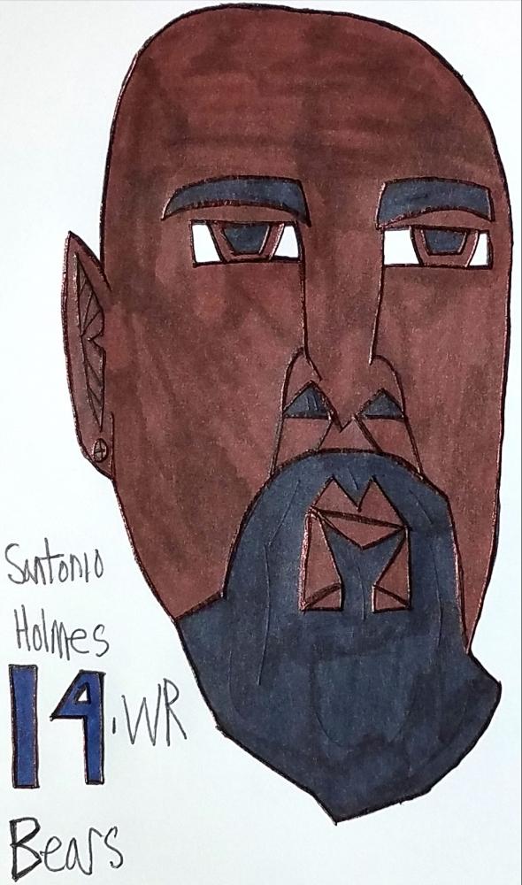Santonio Holmes par armattock